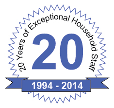 Household Staffing Agency Turns 20