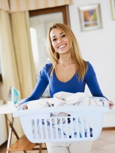 housekeeper laundry