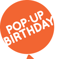 pop up bday