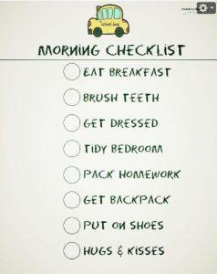 MorningChecklist